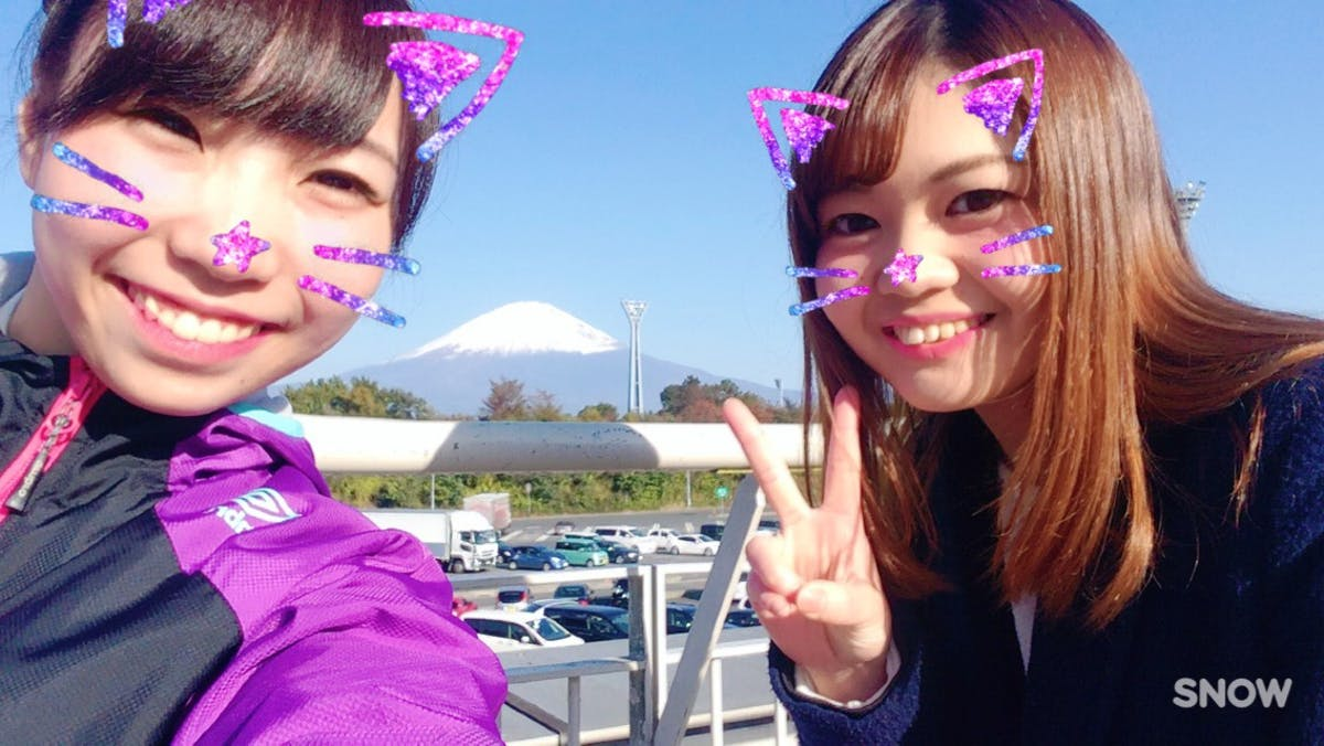 楓プロと富士山